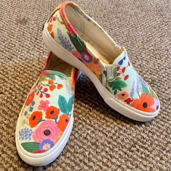 KEDS Shoes - Floral Keds Women's 5/Girls 3